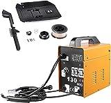 MIG130 Equipos de Soldadura, Soldadora Inverter con Alambre de Aluminio, Dispositivo de Soldadura Profesional(230V 50/60HZ), Portátil, Seguro,...
