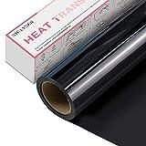 Vinilo Textil Termoadhesivo - Rollo de Vinilo Transferencia de Calor de 30 x 365 cm, para Cricut y Silhouette Cameo, HTV de Alta Resistencia para...