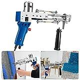 Pistola eléctrica de alfombras 4-14 mm,TELAM tufting Gun cut pile de pelo en bucle Máquinas de tejido de alfombras Máquina de tejer de mano para...