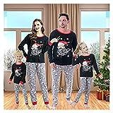 Small night light Pijamas de Navidad Juego de Familia a Juego, Pijamas de Navidad for Familia y Parejas, Ropa de Dormir for Hombres, Mujeres Muchacho y niña PJS (Color : 10t, Size : Kid)