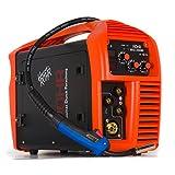 Röhr MIG-200MI - Soldador MIG Inverter MMA de 200 Amp Con o Sin Gas - Máquina 3 en 1 - Tecnología IGBT - CC - 240 V