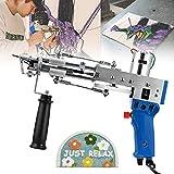 S SMAUTOP Pistola eléctrica para tejer alfombras, máquina para tejer alfombras, máquina para flocado, máquina para bordar industrial, máquina...