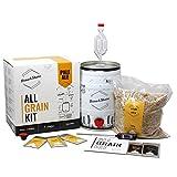 BNKR BEER Brew&Share   Kit para Hacer Cerveza Pale Ale   Tu Cerveza en 2 semanas. Elaboración con maltas. Fermentación en Barril. Materiales Reutilizables.