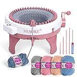 Máquina de tejer 48 agujas, Máquinas inteligentes, juguetes inteligentes DIY grandes, bufanda de tejer para calcetines / eso, hacer un regalo con...