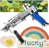 S SMAUTOP Pistola eléctrica para tejer alfombras, máquina profesional para tejer alfombras, máquina manual para tejer, herramientas para hacer...